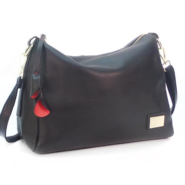 Женская сумка Borgo Antico. Кожа. 7173 black