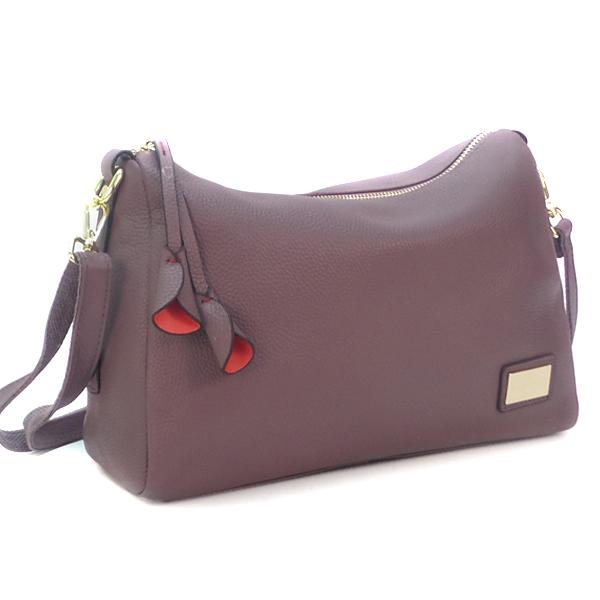 Женская сумка Borgo Antico. Кожа. 7173 l.purple