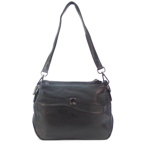 Женская сумка Borgo Antico. Кожа. 77201 black