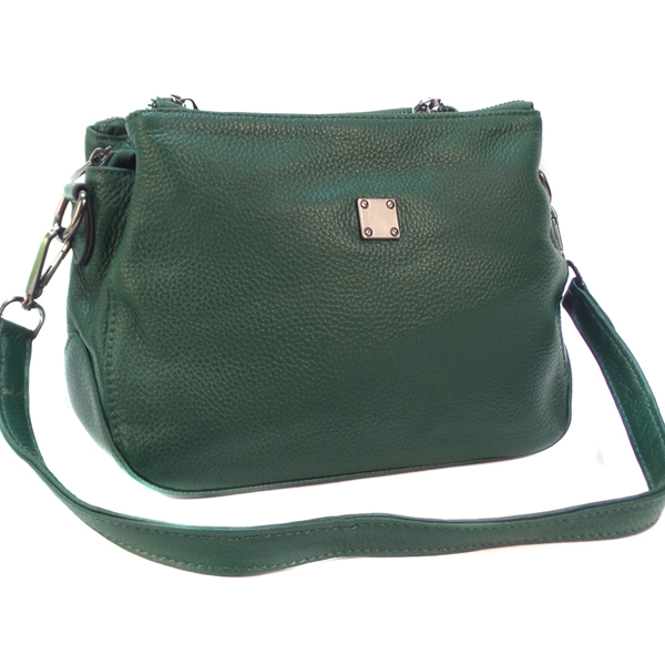 Женская сумка Borgo Antico. Кожа. 77201 green