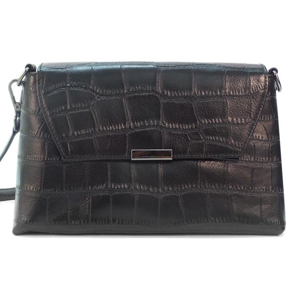 Женская сумка Borgo Antico. Кожа. 7829 black