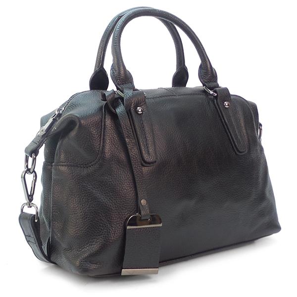 Женская сумка Borgo Antico. Кожа. 8007 black