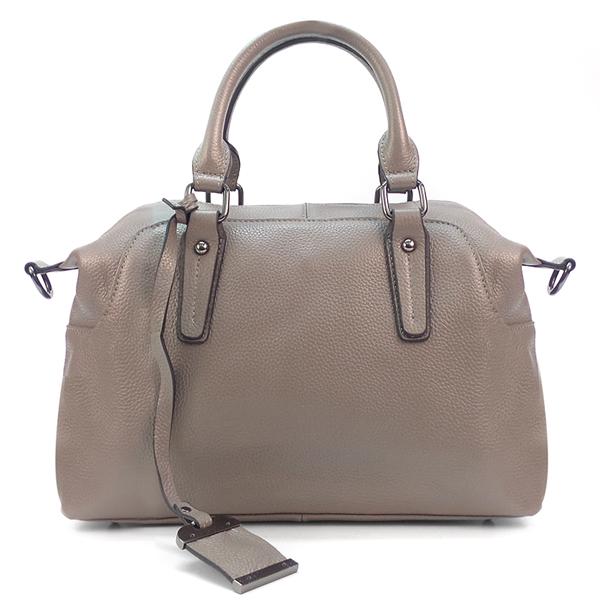 Женская сумка Borgo Antico. Кожа. 8007 gray