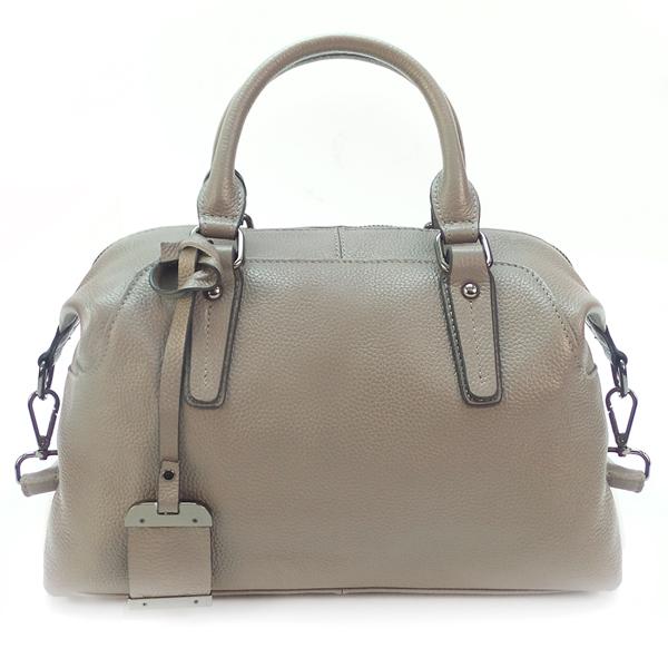 Женская сумка Borgo Antico. Кожа. 8007 grey