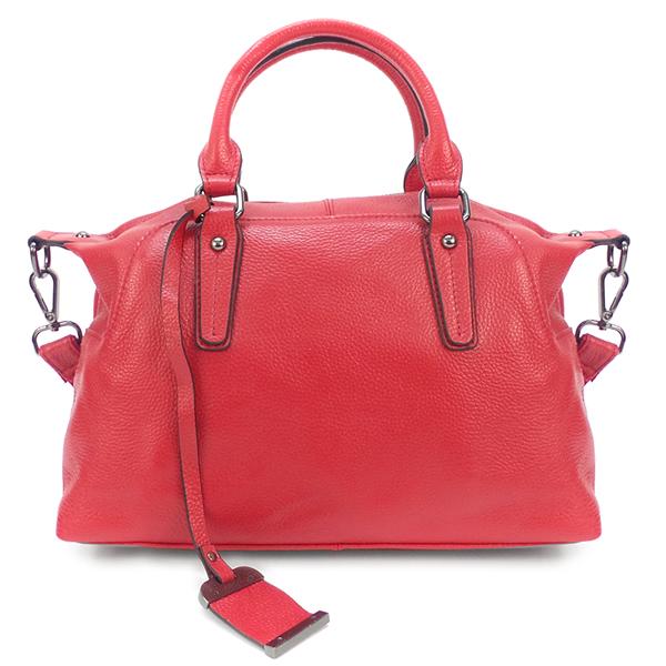Женская сумка Borgo Antico. Кожа. 8007 red