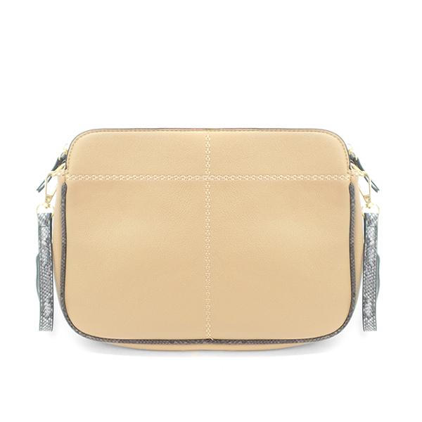 СКИДКА. Женская сумка Borgo Antico. 8015/938 apricot