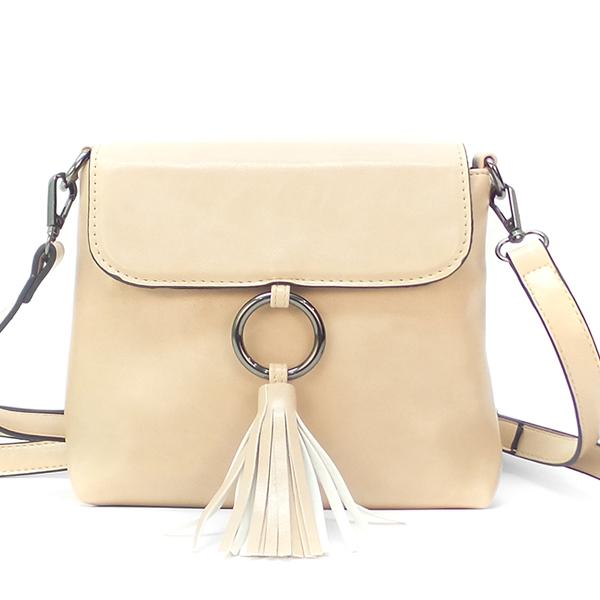 Женская сумка Borgo Antico. 803 apricot