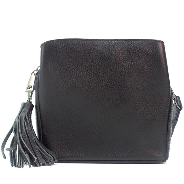 Женская сумка Borgo Antico. Кожа. 8129 black