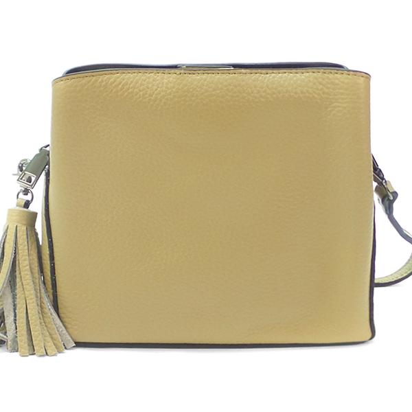 Женская сумка Borgo Antico. Кожа. 8129 khaki