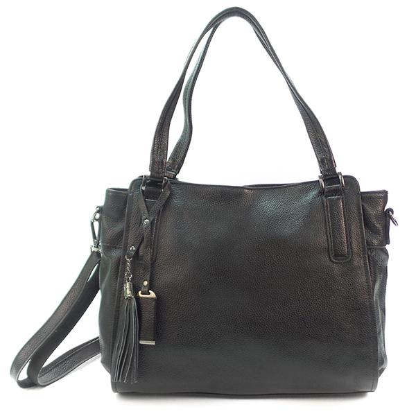 Женская сумка Borgo Antico. Кожа. 8811 black (NN)