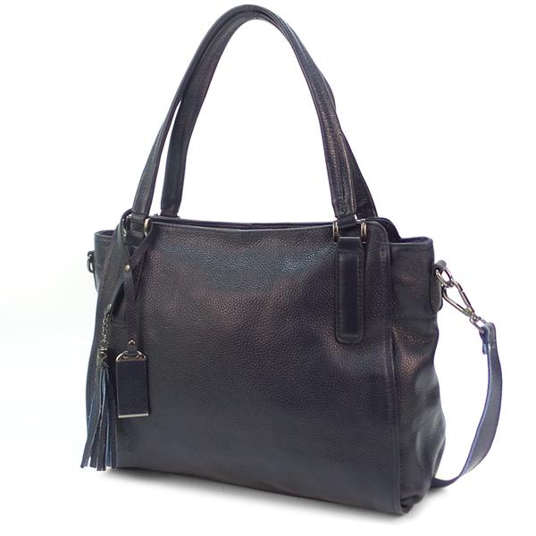 Женская сумка Borgo Antico. Кожа. 8811 blue (NN)