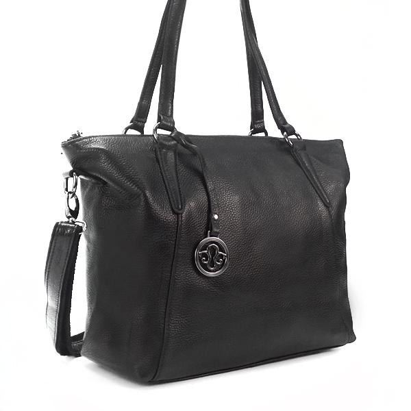 Женская сумка Borgo Antico. Кожа. 8818 black