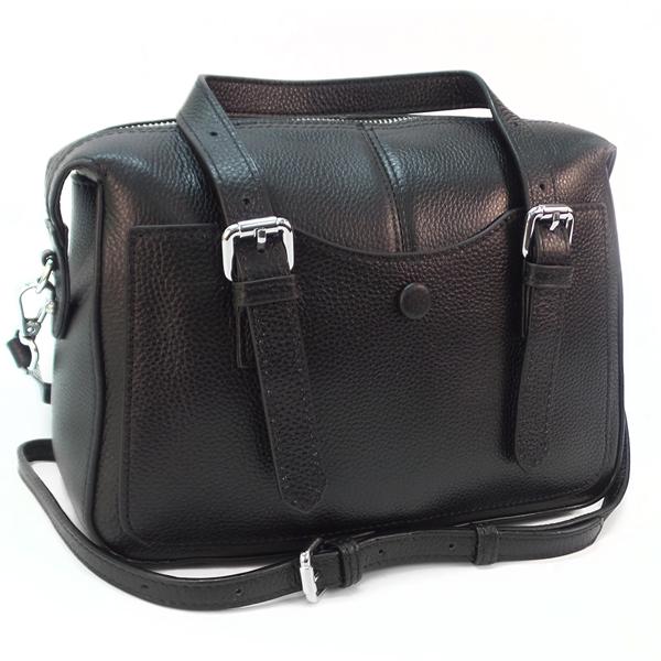 Женская сумка Borgo Antico. Кожа. 8819 black