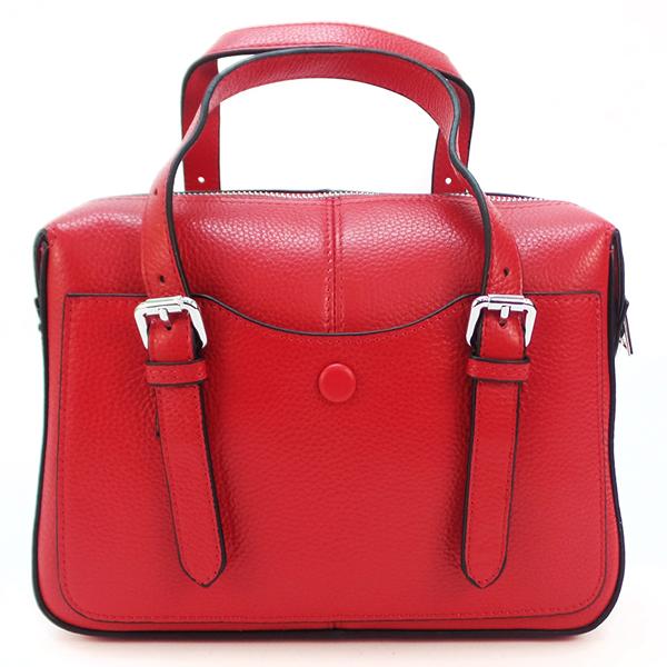 Женская сумка Borgo Antico. Кожа. 8819 red