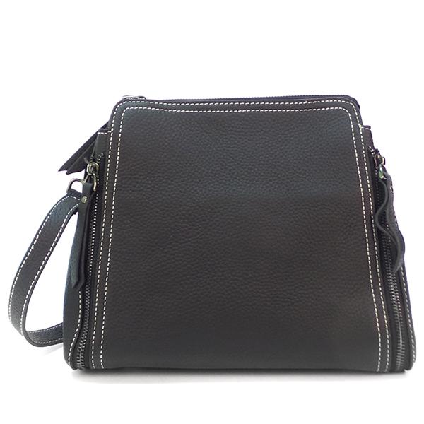 Женская сумка Borgo Antico. Кожа. 8915 black