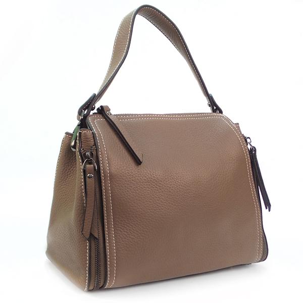 Женская сумка Borgo Antico. Кожа. 8915 khaki