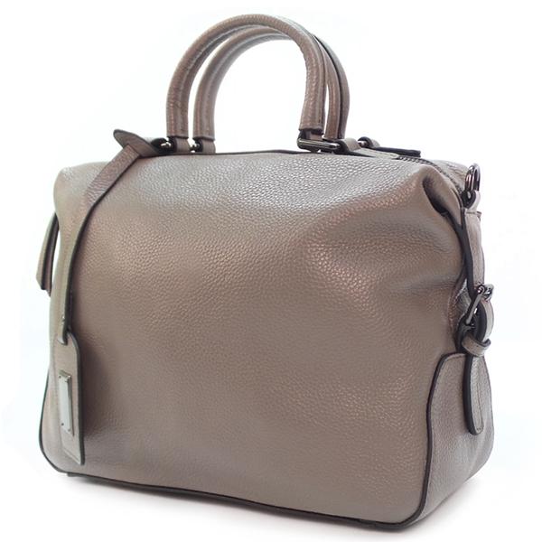 Женская сумка Borgo Antico. Кожа. 8916 grey