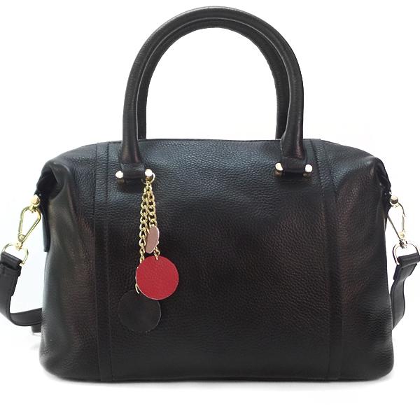 Женская сумка Borgo Antico. Кожа. 9801 black