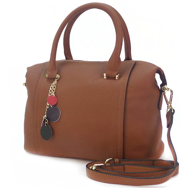 Женская сумка Borgo Antico. Кожа. 9801 caramel