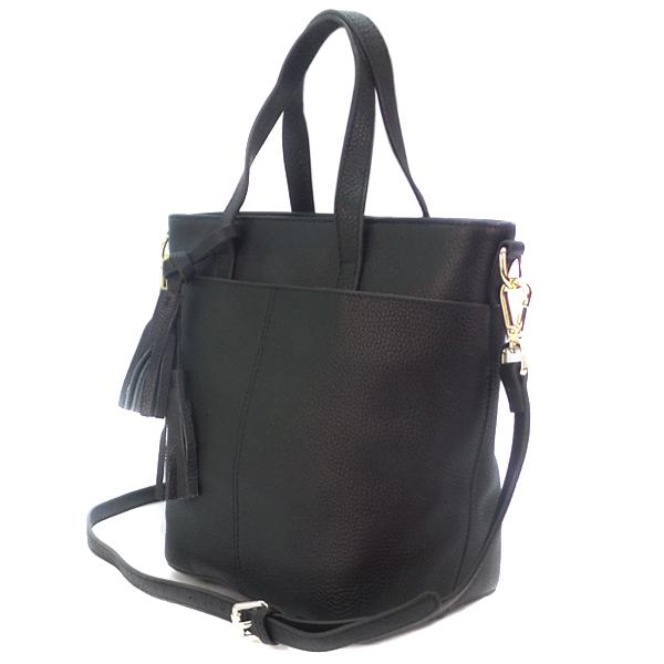 Женская сумка Borgo Antico. Кожа. 9802 black