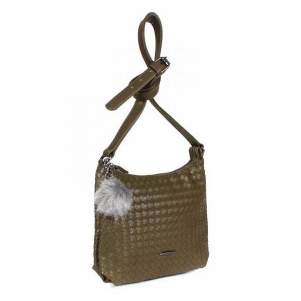 СКИДКА. Женская сумка David Jones. CM 3597 khaki