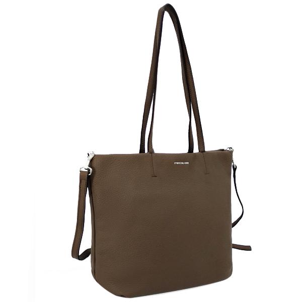 Женская сумка. Кожа. F-P 12 khaki
