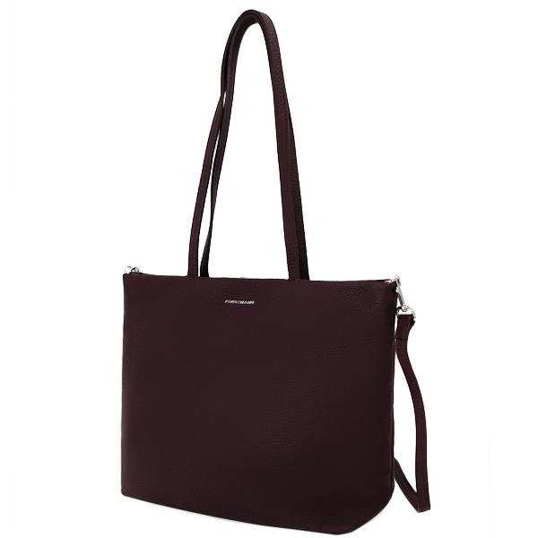 Женская сумка. Кожа. F-P 12 wine red