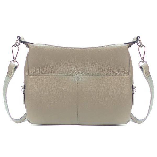 Женская сумка Borgo Antico. Кожа. K 183 elephant grey