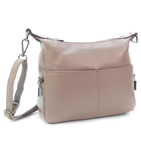 Женская сумка Borgo Antico. Кожа. K 183 taro purple