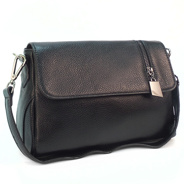 Женская сумка Borgo Antico. Кожа. K 202 black