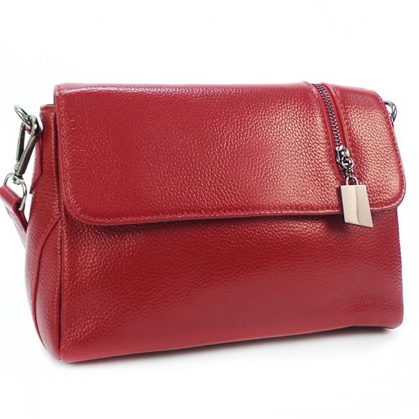 Женская сумка Borgo Antico. Кожа. K 202 burgurdy