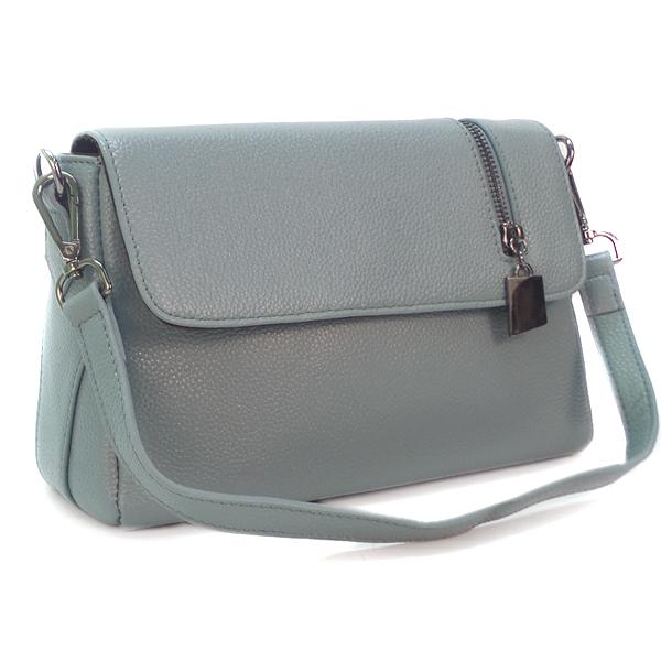 Женская сумка Borgo Antico. Кожа. K 202 flaxseed