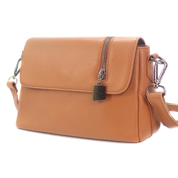 Женская сумка Borgo Antico. Кожа. K 202 khaki