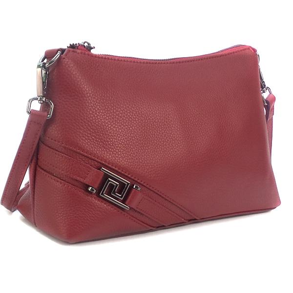 Женская сумка Borgo Antico. Кожа. K 253 burgundy