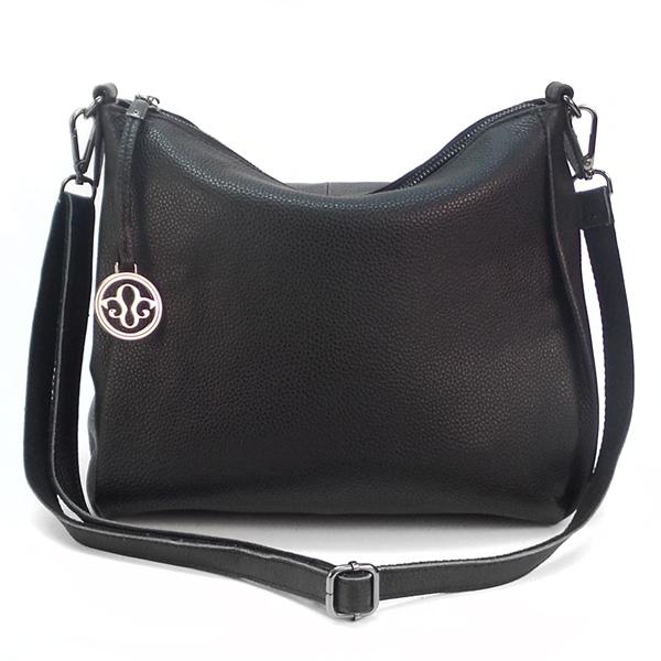 Женская сумка Borgo Antico. Кожа. K 265 black