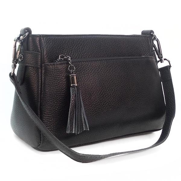 Женская сумка Borgo Antico. Кожа. K 268 black