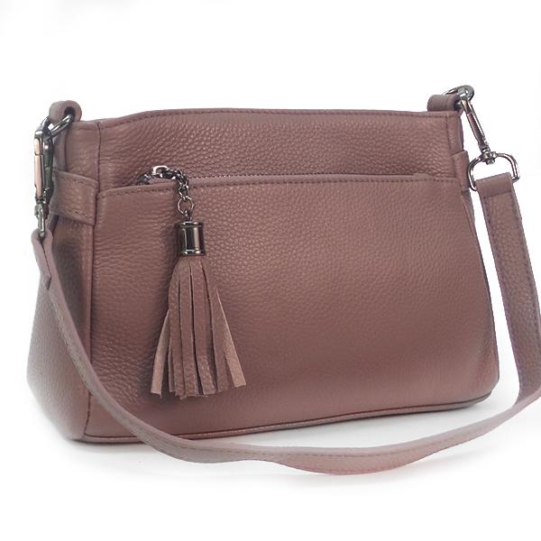 Женская сумка Borgo Antico. Кожа. K 268 dusk