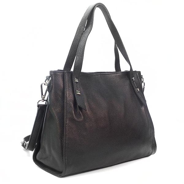 Женская сумка Borgo Antico. Кожа. K 270 black