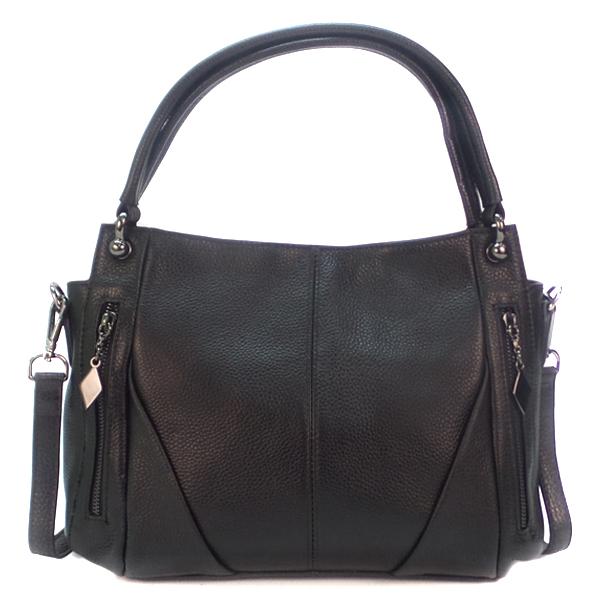 Женская сумка Borgo Antico. Кожа. K 273 black