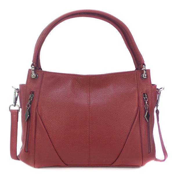 Женская сумка Borgo Antico. Кожа. K 273 burgundy