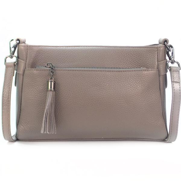 Женская сумка Borgo Antico. Кожа. K 268 elephant ash