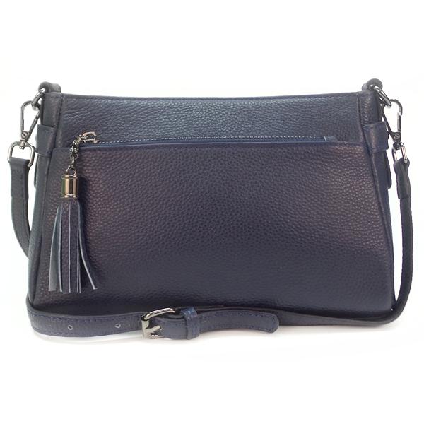 Женская сумка Borgo Antico. Кожа. K 268 royal blue