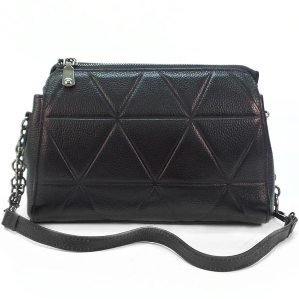 Женская сумка Borgo Antico. Кожа. T 8121 black