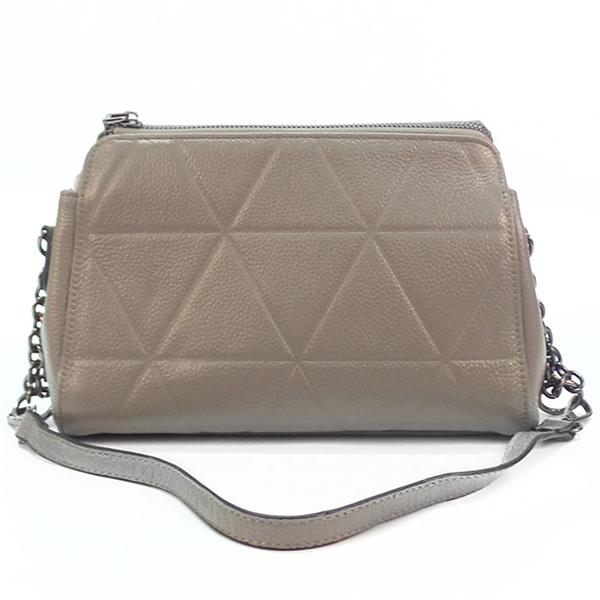 Женская сумка Borgo Antico. Кожа. T 8121 grey