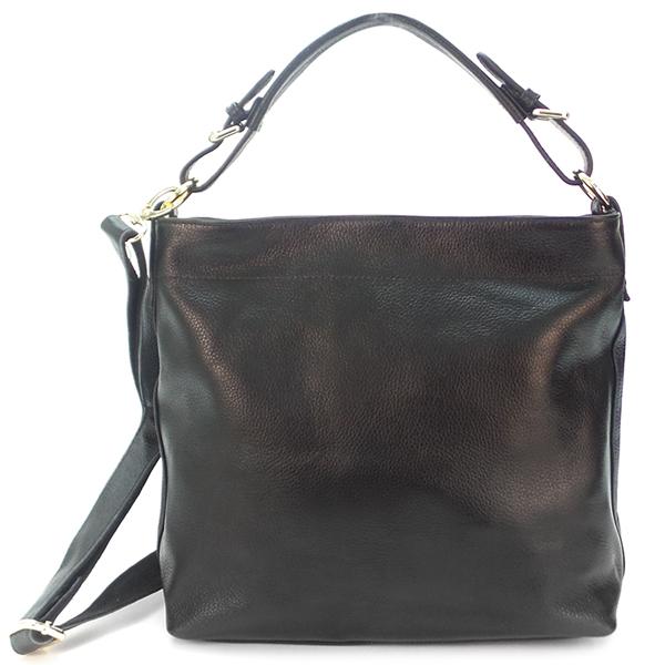 Женская сумка Borgo Antico. Кожа. 0807 black