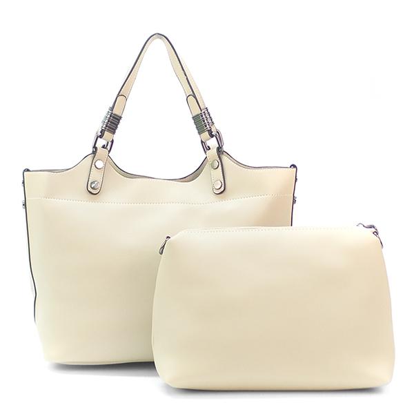 2 в 1. Женская сумка Borgo Antico. 1801 white