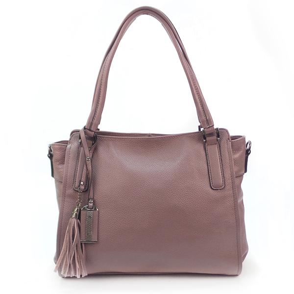 Женская сумка Borgo Antico. Кожа. 1897 pink