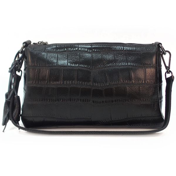 Женская сумка Borgo Antico. Кожа. 4161 black