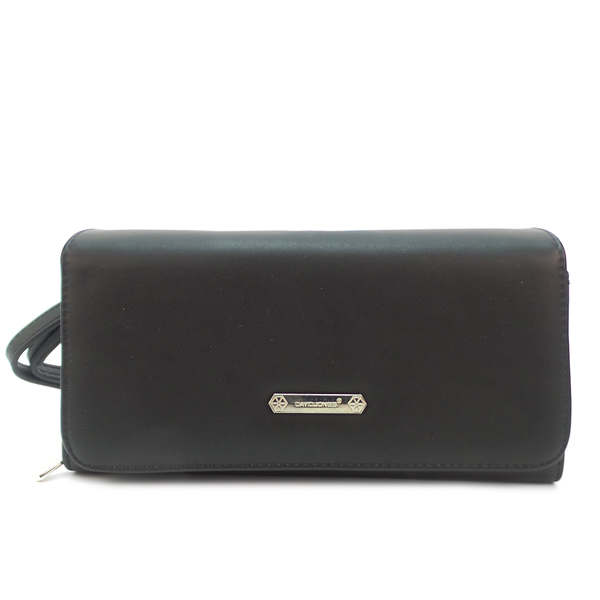 СКИДКА. Женская сумка David Jones. 5504 B-1 black