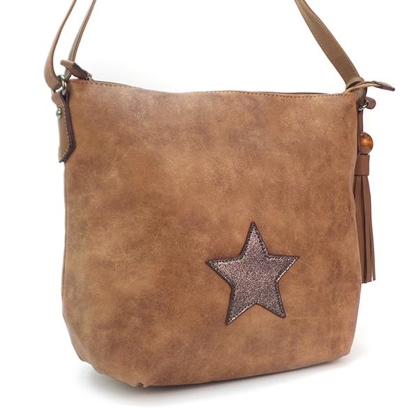Женская сумка David Jones. 5649-3 brown